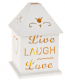 Glimmer LED House Live Laugh Love . 66442